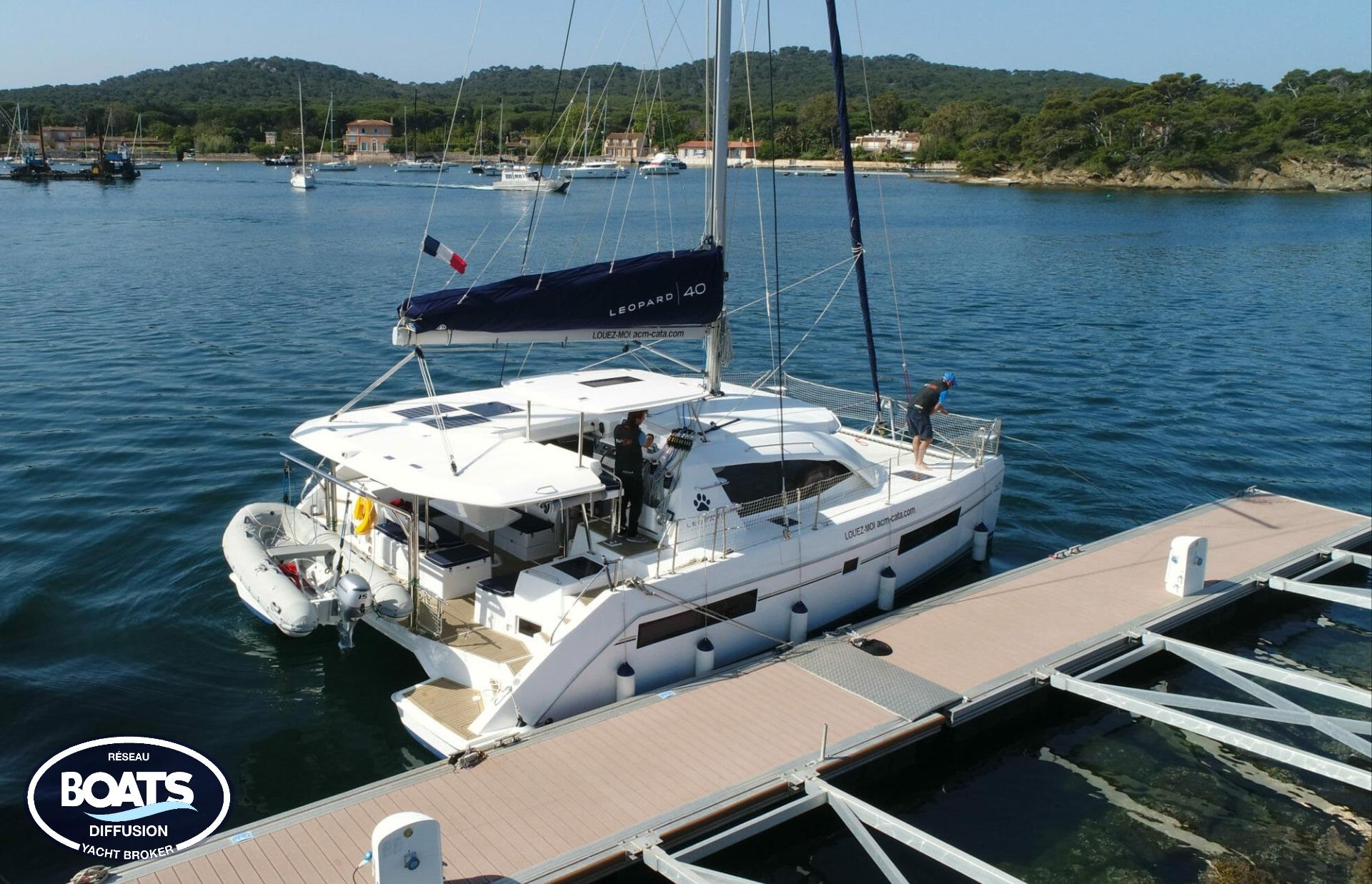 Catamaran Leopard LEOPARD 40